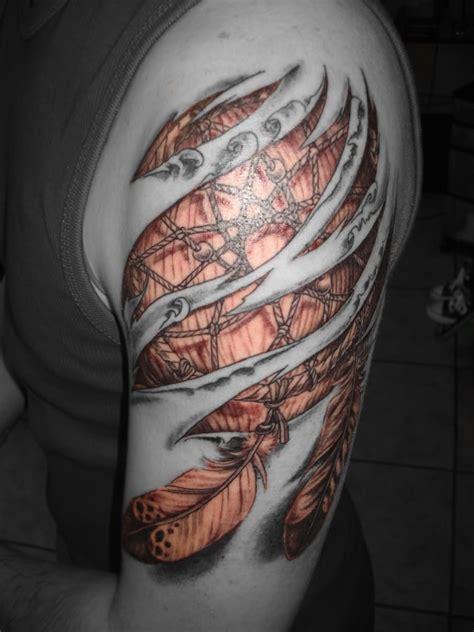 72 mysterious dream catcher tattoos design mens craze