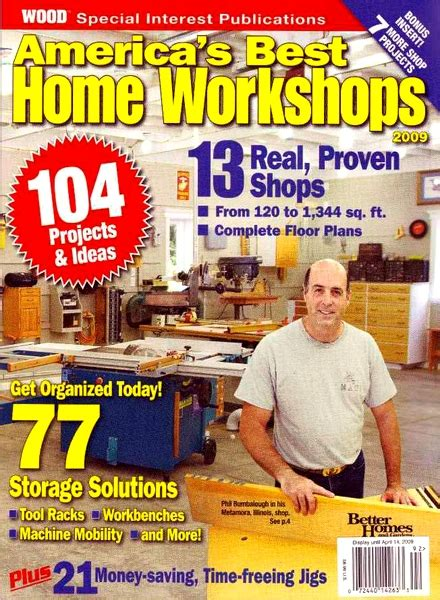 woodworking at home magazine wood magazine best home workshops 2009 pdf