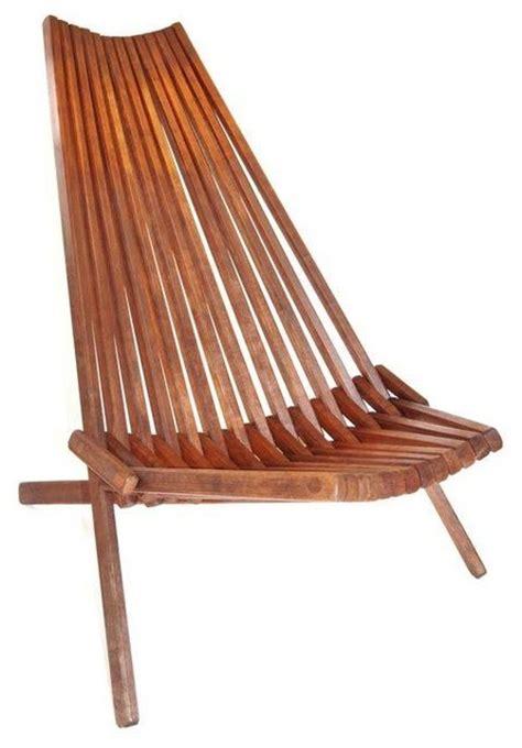 folding living room chair slat teak folding lounge chair modern living