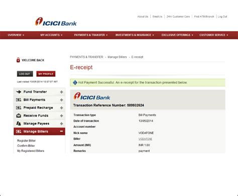 make icici credit card payment payment of hdfc credit card through icici bank