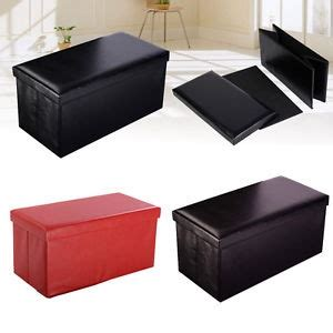 chic square leather storage ottoman leather style ottoman storage boxes and low stools
