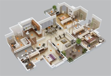 floor plans for 3 bedroom houses 3 bedroom apartment house plans