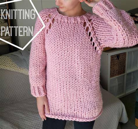chunky knit sweater pattern chunky knit sweater pattern top raglan sweater