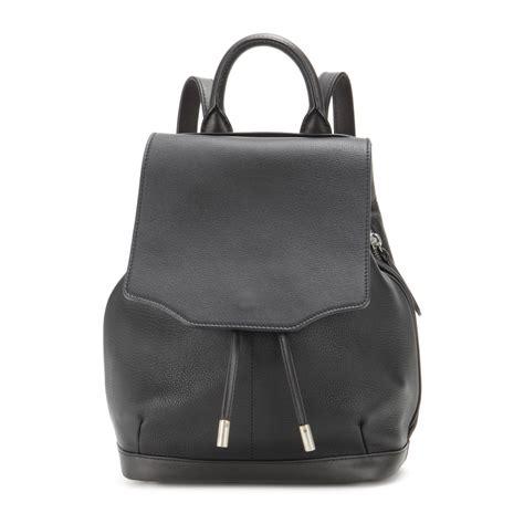 black leather backpacks rag bone mini pilot leather backpack in black lyst