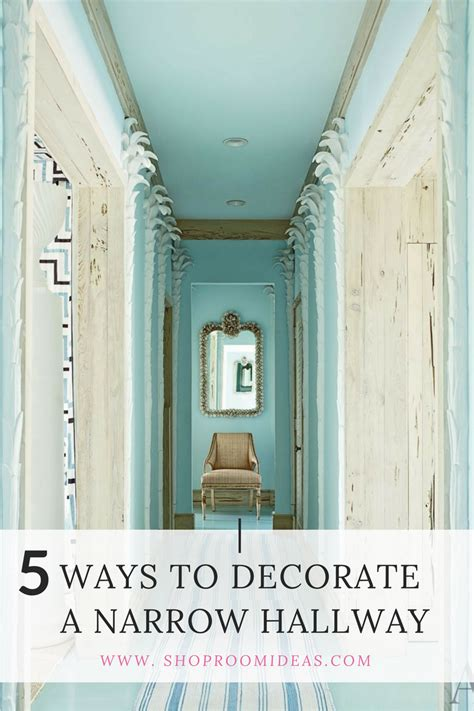 ideas to decorate entrance of home 5 ways to decorate a narrow hallway shoproomideas