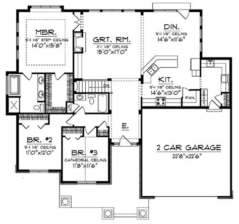 ranch floor plans open concept 180 best house floor plans images on home layouts cottage floor plans and home plans