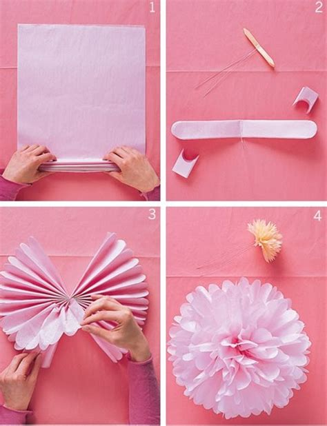 easy paper decorations for easy diy paper flowers pretty decorations for a bridal