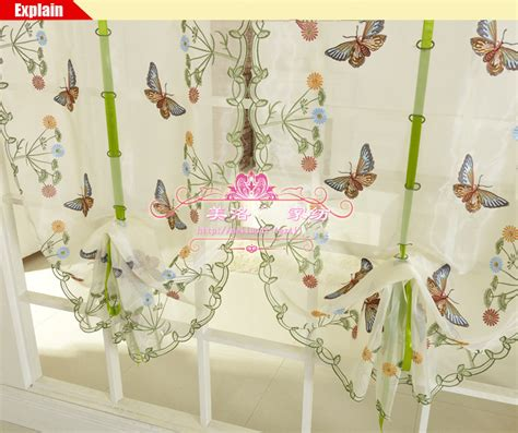 butterfly kitchen curtains buy kitchen curtains valances from bed bath beyond 2017