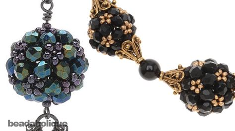 how to make bead how to make an ornate beaded bead using right angle weave