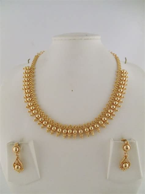 jewelry gold 1gm gold jewelry necklace sets