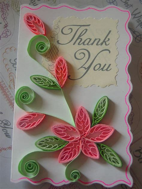 paper flowers for card quilling quilled flowers paper craft greeting cards
