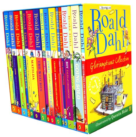 pictures of roald dahl books roald dahl children s 16 book collection box set ebay