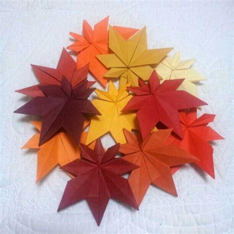 origami with leaf origami maple leaves origami origami