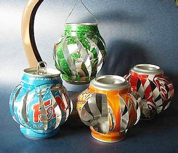 soda can crafts for make soda can lanterns 187 dollar store crafts