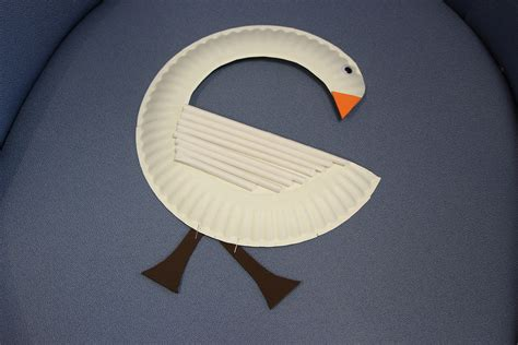 swan paper craft swan paper plate care for the family