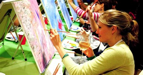 paint nite sudbury paint social paint drink