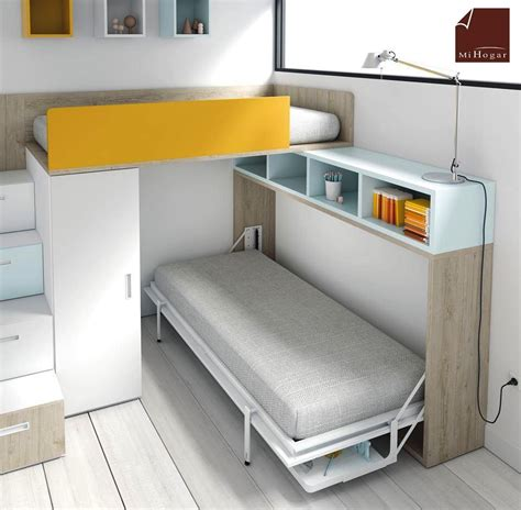 muebles con cama abatible horizontal mueble cama horizontal 20170829101421 vangion