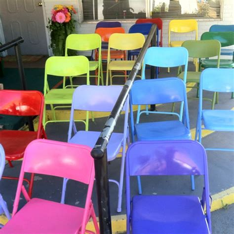 spray painting metal chairs painting metal folding chairs winda 7 furniture