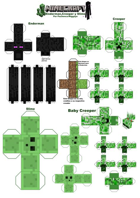 minecraft paper crafts minecraft papercraft por niggayo by niggayo on deviantart