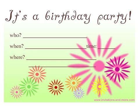 make birthday invitation cards for free free birthday invitation cards at invitations and more