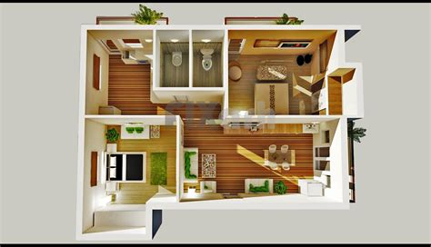 two bedroom house 2 bedroom house plans designs 3d small house