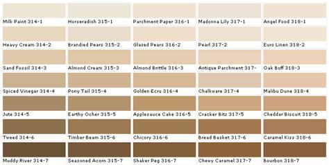 behr paint color interior chart benjamin paints chip color swatch sle and palette