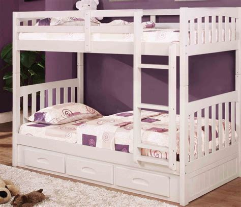 bunk beds white white bunk beds makes your room look fab jitco