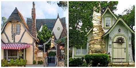 Small Country Homes fairytale christmas in carmel california fairy houses of