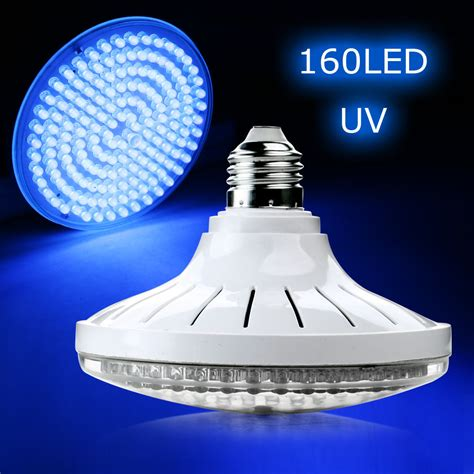 uv led light bulbs well e27 10w ultra bright uv ultraviolet color purple