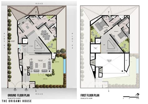 origami plans origami house comot
