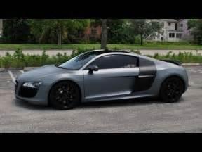 Plasti Dip Audi R8 Matte Silver Youtube