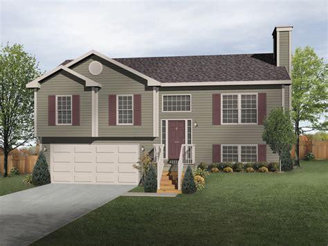 split level home designs oaklawn split level home plan 058d 0069 house plans and more