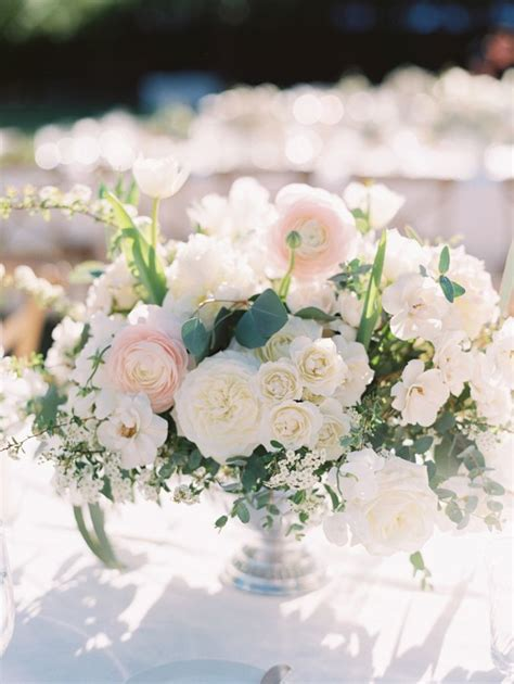 and white centerpieces best 25 blush wedding centerpieces ideas on