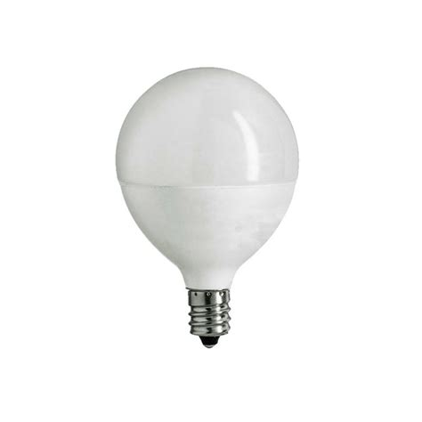 ecosmart 60w equivalent daylight g16 5 e12 dimmable