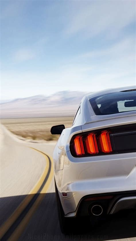 Car Logo Iphone 5 Wallpaper by Ford Mustang 2015 Iphone 5 Wallpaper Cars Iphone