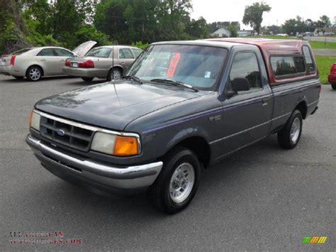 1993 Ford Ranger by 1993 Ford Ranger Xlt Regular Cab In Opal Grey Metallic
