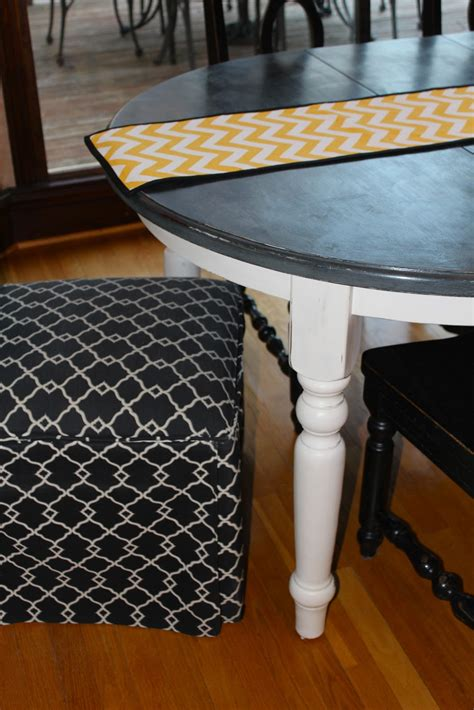 chalkboard paint table chalk paint kitchen table