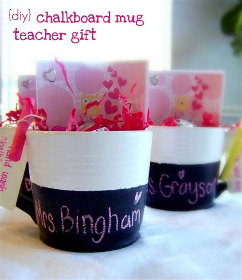 diy chalkboard coffee mug 15 awesome gift ideas