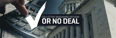 rubber st legislature senate wants collective bargaining reforms as part of