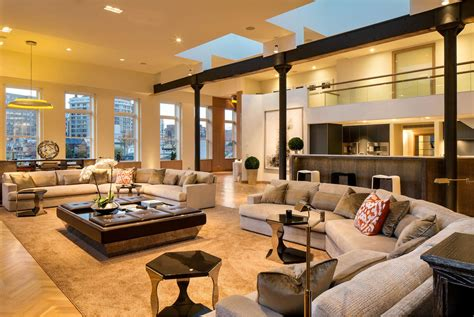 Home Interior Paint Ideas in soho a penthouse by andrew franz architects and
