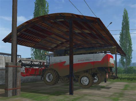 roof ls shelter with a corrugated roof v 1 0 ls15 farming