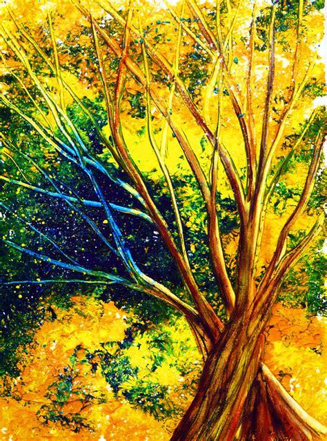 Acrylic Tree Tutorial By Annmariebone On Deviantart