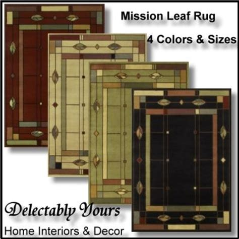 mission style area rugs mission leaf area rug from timber creek collection by