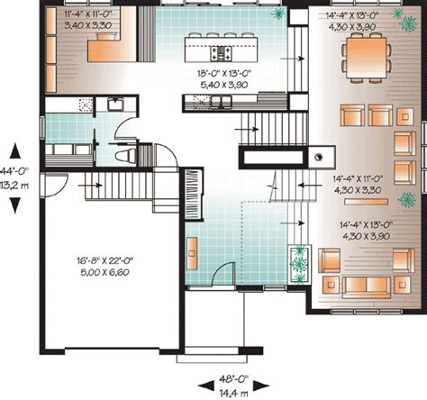 2nd floor plan design modern house plan with 2nd floor terace 21679dr 2nd