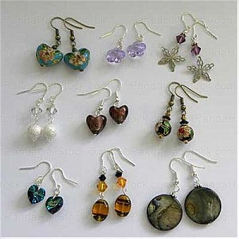 make jewelry at home how to make earrings at home beading a pair of lovely