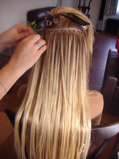 are beaded extensions bad for your hair best 25 micro bead hair extensions ideas on