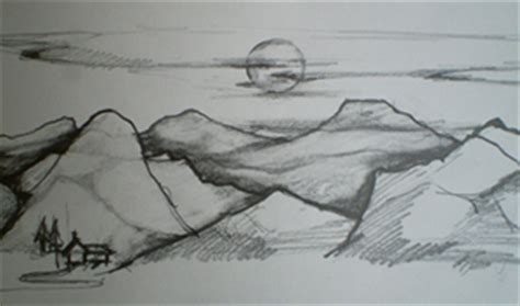landscapes to draw drawing landscapes tutorial