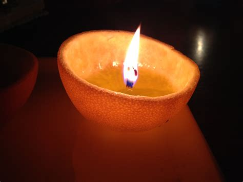 Orange Candle by With Bloke School