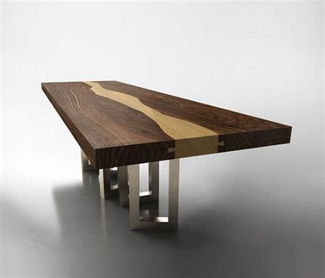 woodwork table designs walnut wood table by il pezzo mancante luxury wood table