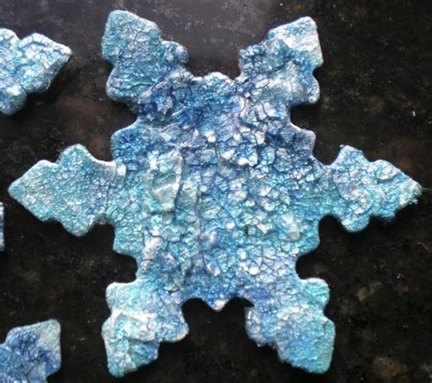 snowflake craft for snowflake ornaments keepsake crafts